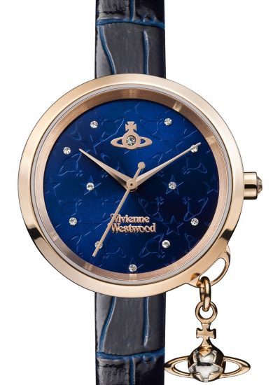 Vivienne Westwood, Bow II Midnight Blue Dial Watch £255